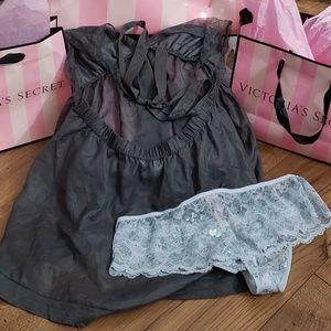 Victoria's Secret Intimates & Sleepwear - Victoria's Secret Lingerie L & NWT Panty